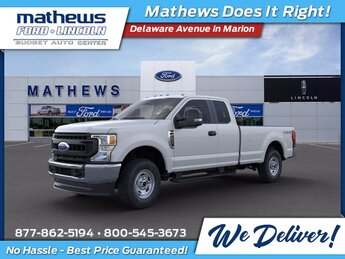 2020 Oxford White Ford Super Duty F-250 SRW XL 4 Door Automatic 4X4 6.2L V8 EFI SOHC 16V Flex Fuel Engine